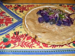 Peruvian Purple Burrito
