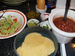 Complete Taco Spread