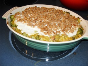 Not my Mom's Broccoli Casserole!